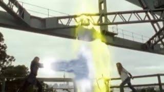 Power Ranger Dino Trueno vs Ninja Storm round 2