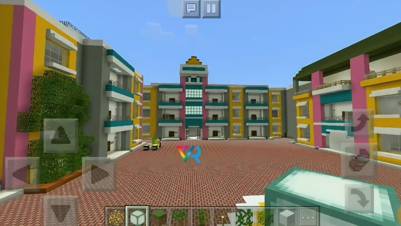 Taarak Mehta Ka Ooltah Chashmah Set Gokuldham Society in Minecraft (Part – 1) Only Exterior