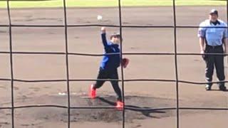 スピードスケート高木美帆 ノーバウンドの見事な始球式(2018年4月1日 平塚球場) 高木美保 検索動画 18