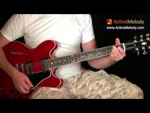 how to play rhythm guitar electric