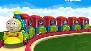 Cartoon Cartoon Train - Thomas The Train - Kids Videos for Kids Cars for Kids - JCB