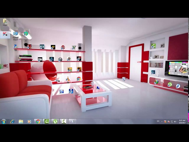 How to make a Beautiful Classic 3D Desktop in Windows