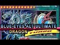 BLUE-EYES Alternative ULTIMATE DRAGON (NEW fusion In Action) Turbo Ver  With Yuigioh Deck Profile
