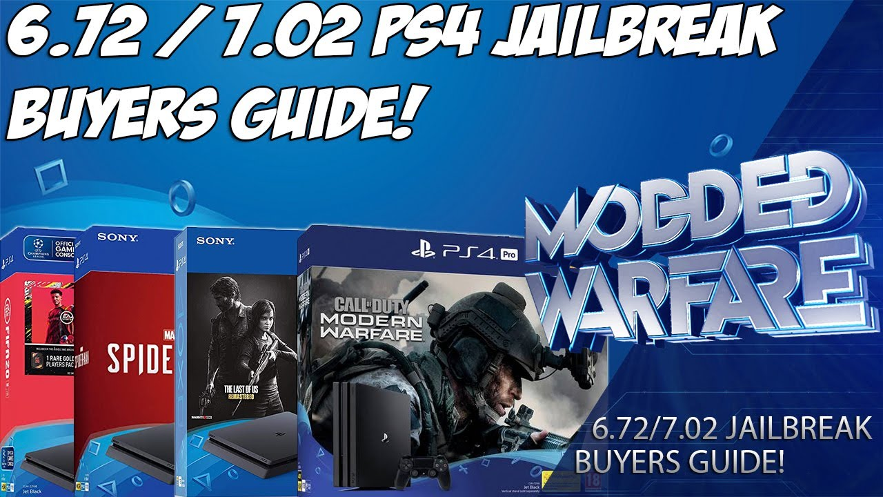 How to get a 6.72 Jailbreakable PS4!