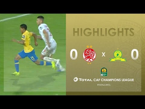 HIGHLIGHTS | #TotalCAFCL | Round 2 - Group C: Wydad Athletic Club 0-0 Mamelodi Sundowns