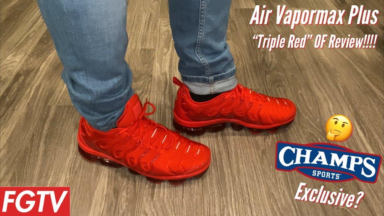 nike air vapormax plus red