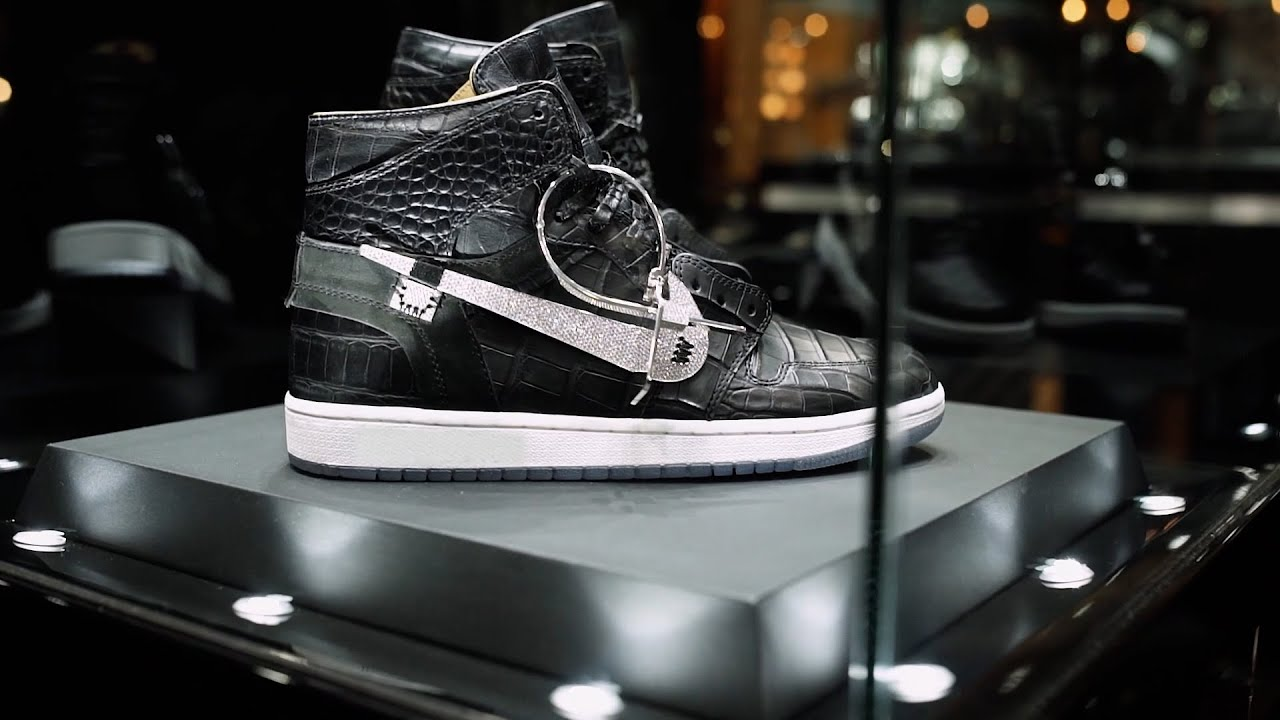 $250,000 Sneaker made by The Shoe Surgeon & Jason of Beverly Hills