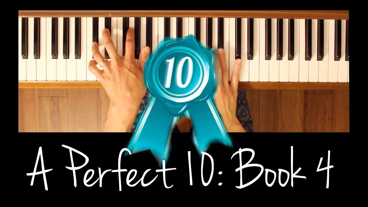 Shades Of Blue A Perfect 10 Bk 4 Intermediate Piano Tutorial