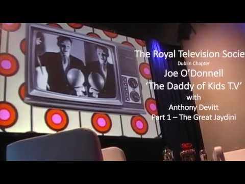 The RTS Interview 'Joe O'Donnell'  The Daddy of Kids T.V.