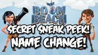 Boom Beach New Update Sneak Peek! New Feature: Name Change - COMING SOON!!!