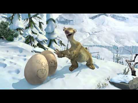 Ice age 3 Sid catching the eggs