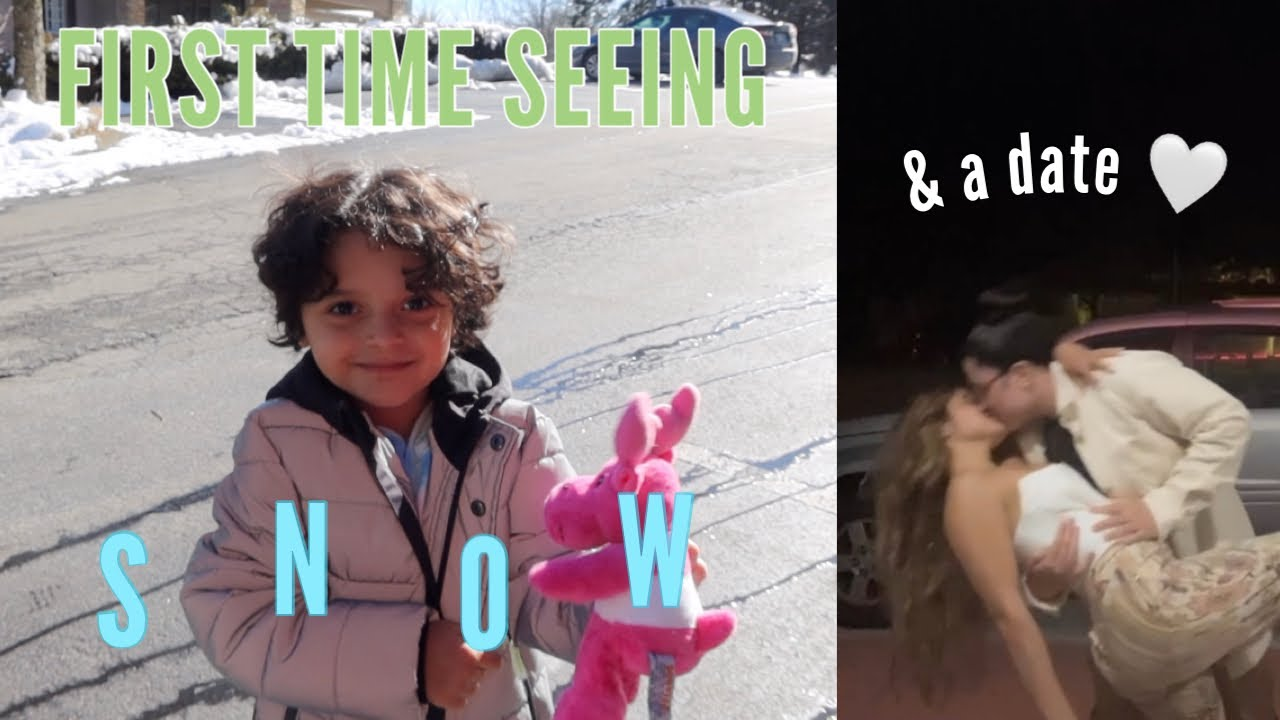 Download MATEO'S FIRST TIME SEEING SNOW! + a date and my new hobby