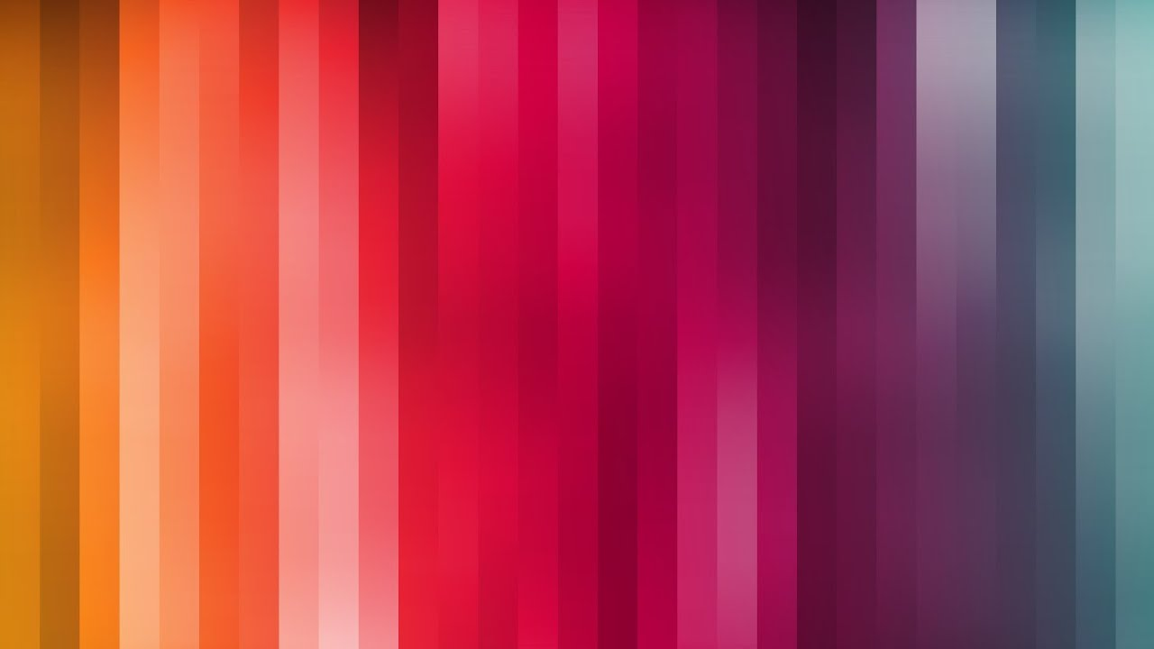 How To Create A Rainbow Colored Stripe Wallpaper Background In Photoshop Tutorial