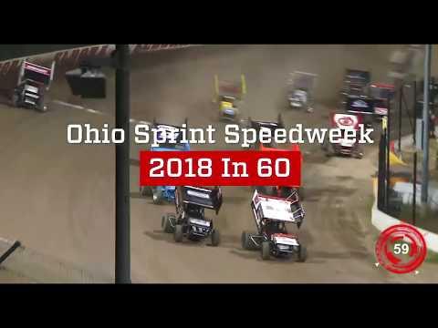 Ohio Sprint Speedweek     2018 in 60