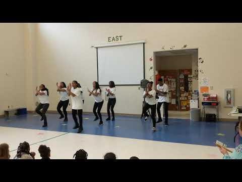 East.Side Stepteam performance at Morehead Elementary School 4-12-2019