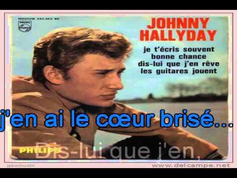 Johnny Hallyday_Dis lui que j'en rêve (Bobby Darin_Jailer bring me water)(1964)