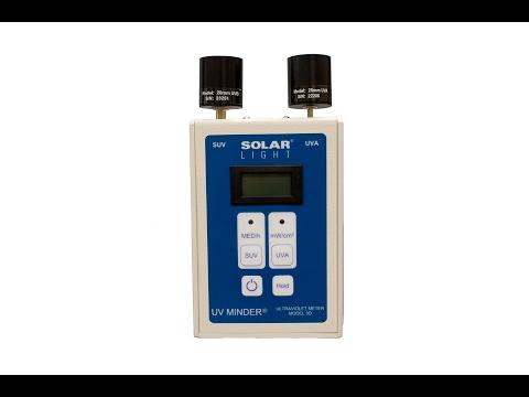 Solar Light Company, Inc. UV Minder® Model 3D UV Meter