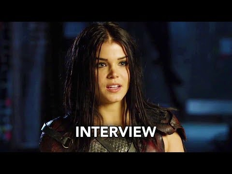 The 100 Season 5  Marie Avgeropoulos  HD