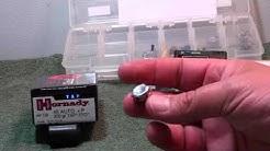 Hornady 200gr +P 45acp  TAP FPD Ballistic gel test
