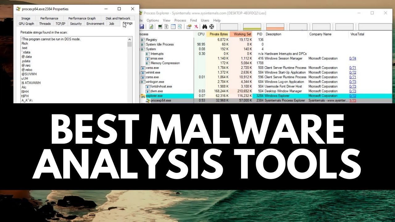 Best Malware Analysis Tools | Learn Malware Analysis