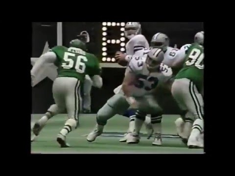 1992 NFC Divisonal Playoff Eagles at Dallas clip6