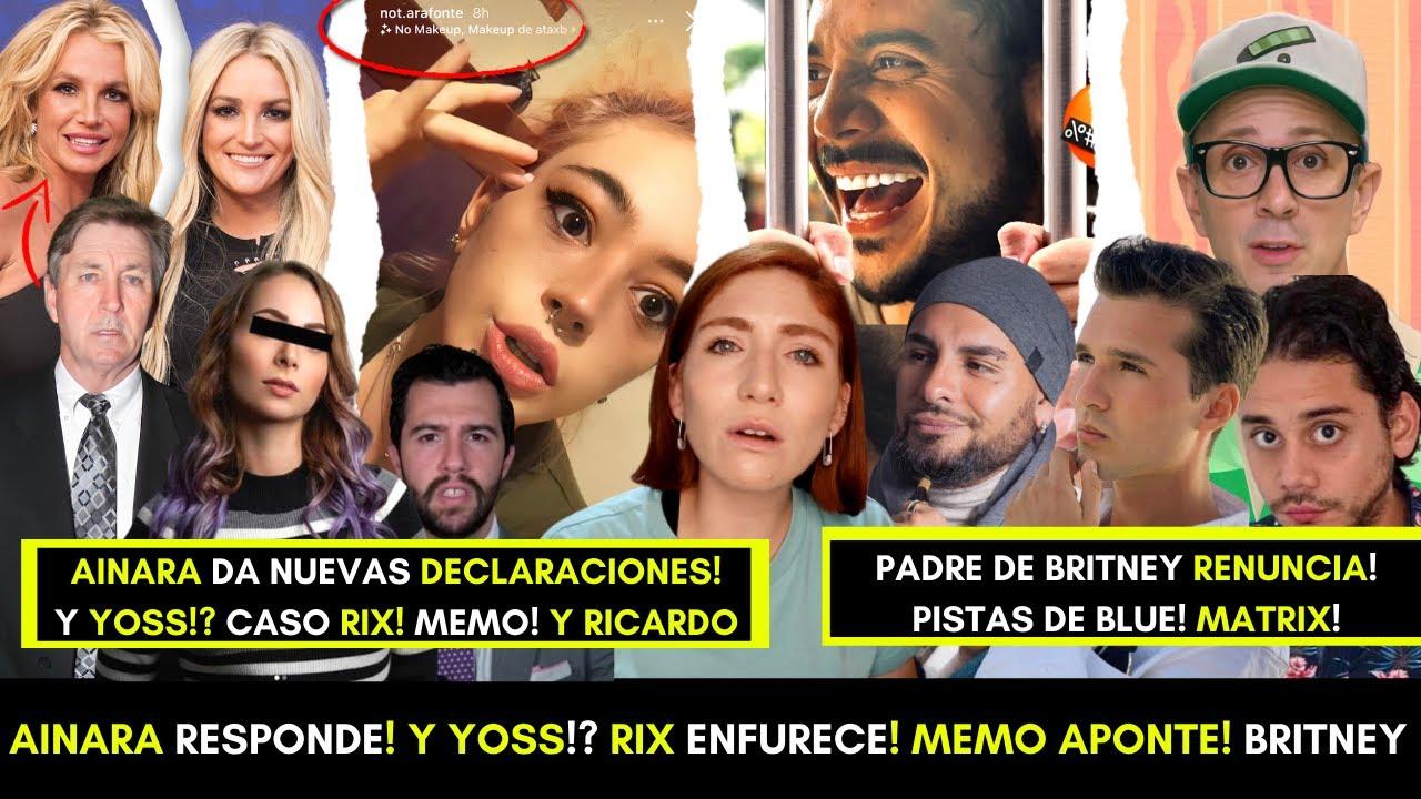 AINĄRA HABLA DE LO SUCEDIDO! RĪX GENERA DEBATE SOBRE YOUTUBERS! QUE PASARÁ CON YØSS!? BRTNEY LIBRE!