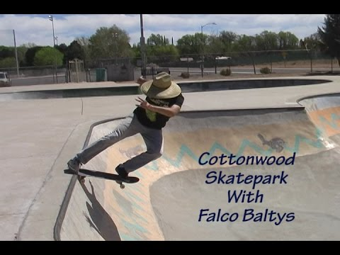 Cottonwood Skatepark With Falco Baltys Youtube