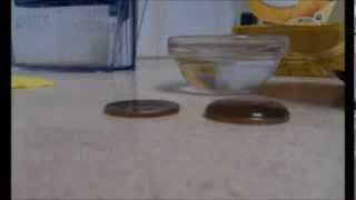 Effect of surfactant on surface tension.