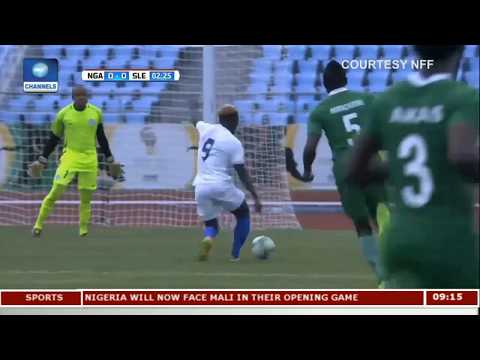 Nigeria Beat Sierra Leone 2-0 In 2017 WAFU Cup | Sports This Morning |