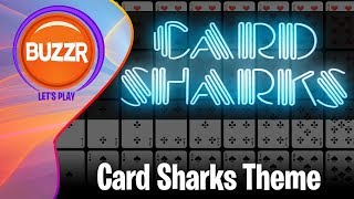 Card Sharks - 10 Minutes of the Card Sharks Main Theme | BUZZR