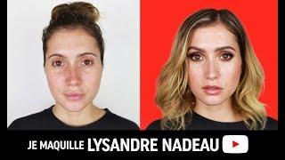 JE MAQUILLE : LYSANDRE NADEAU