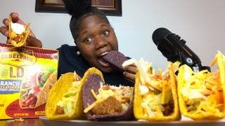 Homemade Doritos Loco ranch Taco 🌮 MUKBANG |vickeycathey|