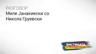 Разговор 07 Миле Јанакиески со Никола Груевски