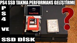PS4 SSD Disk Takarsak Ne Olur  (SSD disk ve Harika Performans) Bizimps