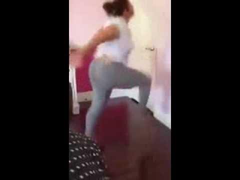 Silly Girl dance !! HAHA