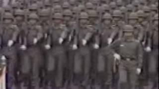 中華民國七十年(1981年)國慶閱兵大典 - 陸軍長城部隊^^踢正步
