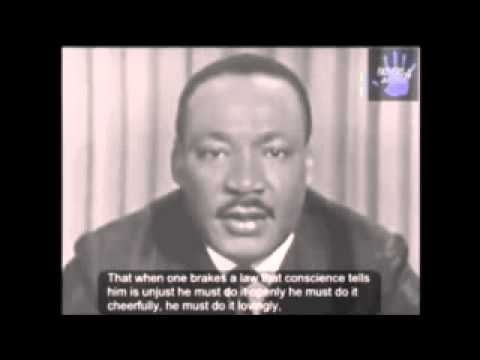 Martin Luther King Jr unjust laws