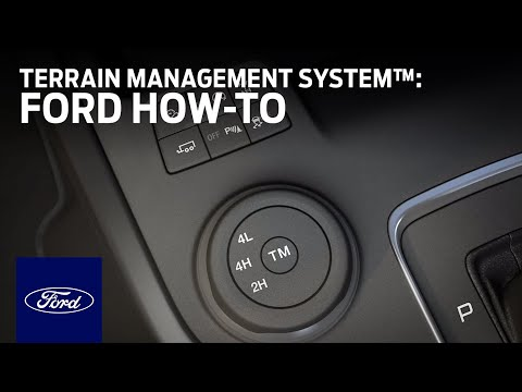 Terrain Management System™ | Ford How-To | Ford
