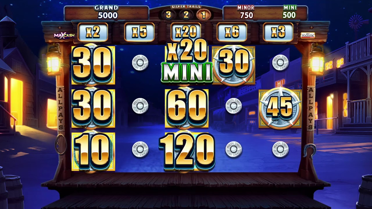 Silver Trails  Slot Play Free ▷ RTP 95.2% & High Volatility video preview