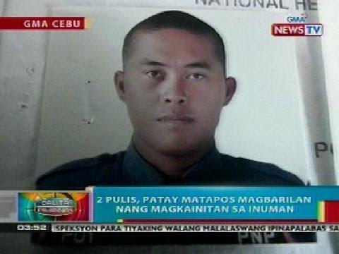 BP: 2 pulis sa Cebu City, patay matapos magbarilan nang magkainitan sa inuman