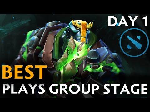 Dota 2 Best Plays of Kiev Major- Group Stage Day 1