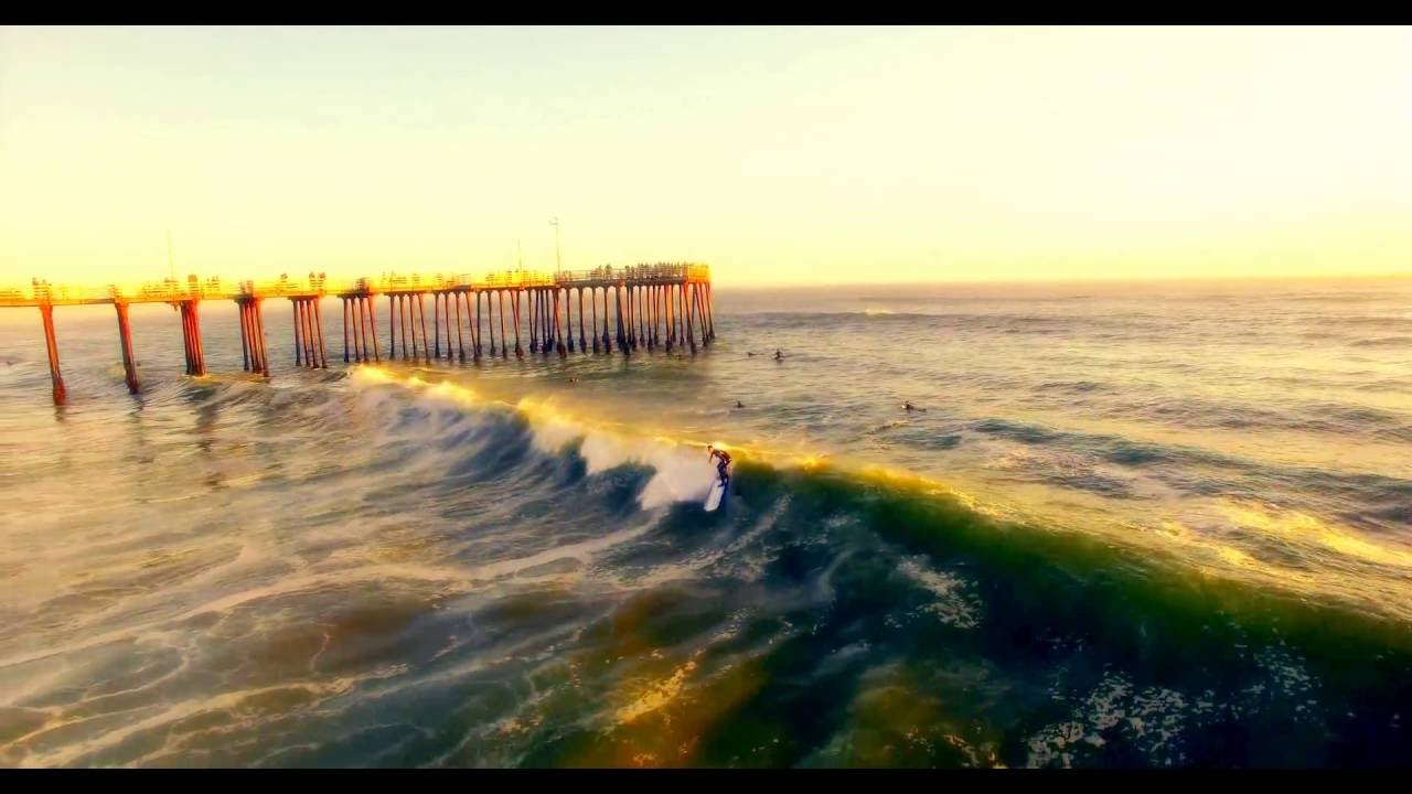Pismo Beach surfing
