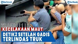Download Detik-Detik Wanita Pengendara Mio GT Tewas Terlindas Truk Diesel, Seluruh Tubuh Hancur