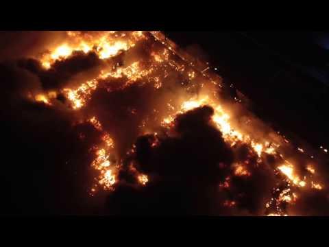 Hillsborough, NJ Veterans Industrial Park Multi Alarm Fire