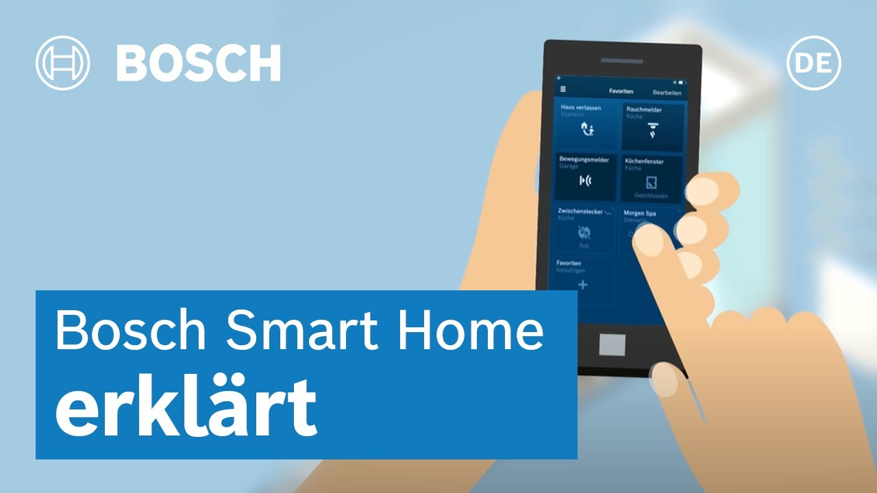 smart life bosch smart home app de youtube. Black Bedroom Furniture Sets. Home Design Ideas