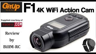 GitUp F1 90° 4K WiFi Action Camera review