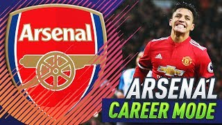 HUGE GAME AGAINST MANCHESTER UNITED!!! FIFA 18 ARSENAL CAREER MODE #22