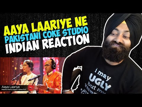 Aaya Laariye, Pakistani Coke Studio Song | Indian Reaction | PunjabiReel TV