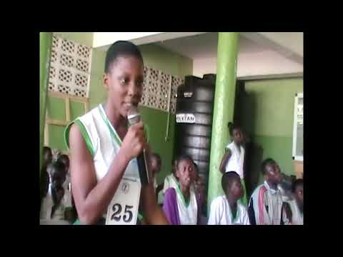 RICHES OF GLORY ACADEMY SPELLING BEE BY BORN HEROES FOUNDATION