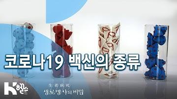 코로나19 백신의 종류 - 코로나19 백신과 치료제 어디까지 왔나 (KBS_744회_2020.09.09)